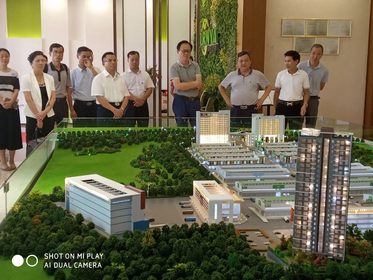 中国工程院院士、省科协主席陈勇专家团一行莅临绿然灯塔农产品物流园考察调研