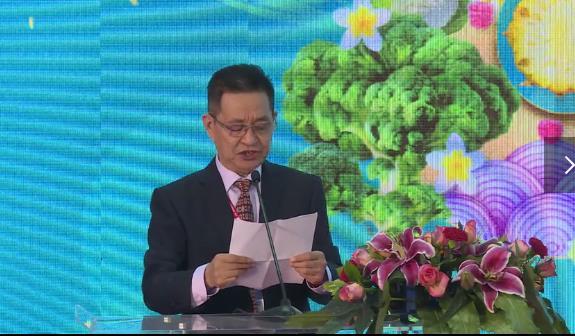 深圳市农产品国际流通协会会长王昌龙会长开幕式致辞